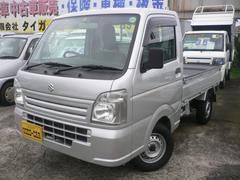 キャリイトラック新型 KCエアコン・パワステ 4WD 5MT 保証書・取説