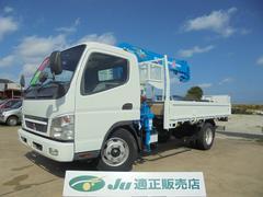 キャンター超ワイド タダノ5段クレーン ラジコン 積載量3.6トン