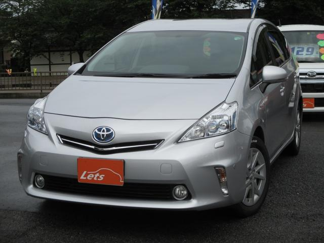 Photo of TOYOTA PRIUS ALPHA G / used TOYOTA