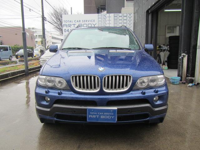 BMW X5 4.8IS | 2004 | BLUE | 76,961 km | details.- Japanese used ...