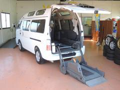キャラバンチェアチャブ 福祉車輌 車いす2基 アーム格納式リフター