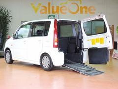 ムーヴスローパー 1年保証 車高降下装置 車いす移動車 4人乗り