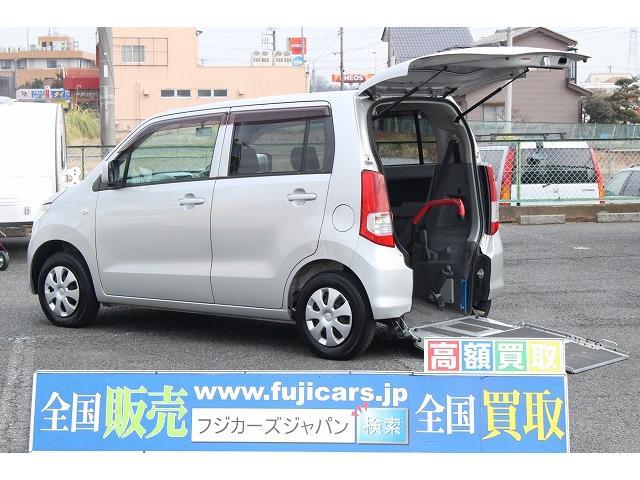 北海道から沖縄まで全ての都道府県に納車実績がありますH21年 ワゴンR スロープ