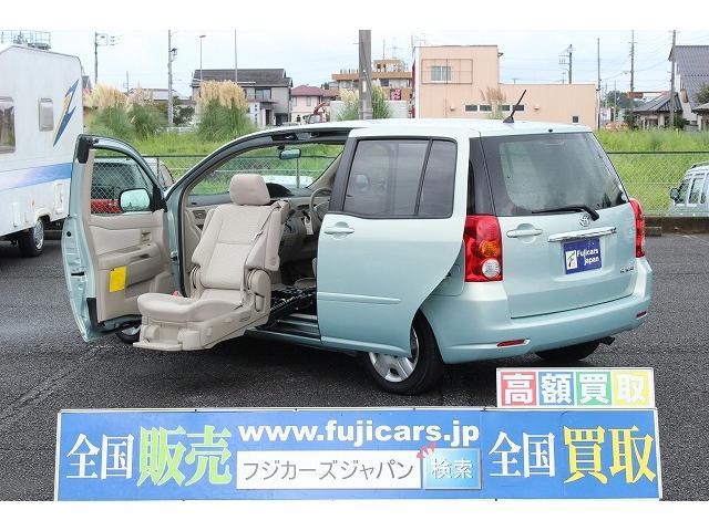 トヨタ ウェルキャブ 助手席リフト 車いす収納装置