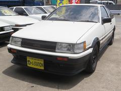 カローラレビンGTAPEX無事故車前期エアコンパワステ付デジパネワタナベ