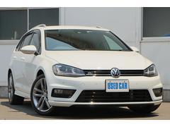 VW ゴルフヴァリアントRラインBMT DCC ACC ワンオーナー 禁煙車 ナビ