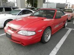 フォード マスタングコンバーチブル ペースカーCOBRA 本革 ETC BBS