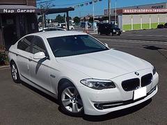 BMW528i レザー 禁煙車 黒革メモリー付パワーシート TV