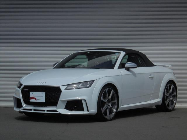 Audi Tt Rs Roadster Base Grade 2017 Pearl White 1600 Km