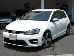 VW ゴルフR黒本革シート パドルシフト 純正18AW 禁煙車