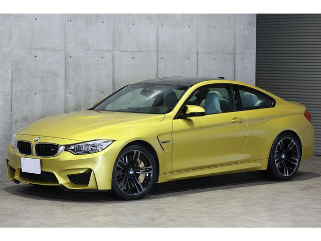 BMW M4クーペ 6MT オールレザーインテリア カーボンブレーキ