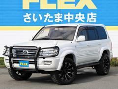ランドクルーザー100VX−LTD マルチレス地デジナビ 20AW&新品タイヤ