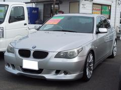 BMW525iハイラインパッケージ 純正ナビ 19AW ローダウン