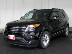 フォード エクスプローラーリミテッド 4WD 黒本革レザー ナビ フルセグTV