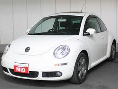 VW ニュービートルLZサンルーフ 黒レザー HDDナビ ETC