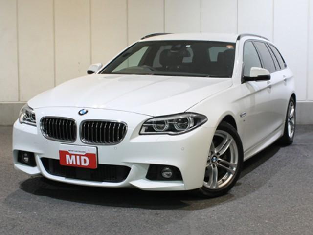 BMW 5シリーズ 528iツーリング Mスポーツ 245PS 黒...