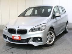 BMW218iグランツアラー Mスポーツ純正ナビLEDヘッドライト