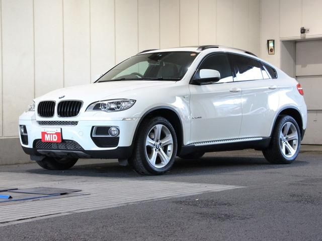 BMW X6 xDrive 35i SR 本革 ナビ (検30.8)