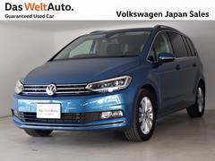 VW ゴルフトゥーランTSI ハイライン 現行型モデル VW純正ナビ LEDライト