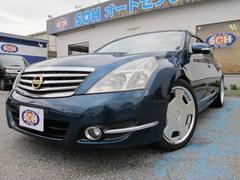ティアナ350XV黒本革HDDサンルーフ19AW全国1年保証付