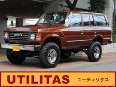 トヨタ ランドクルーザー60 バン 4.0 GX 4WD 純正ロールーフ 観音 4.0L