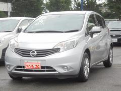 ノートX ワンセグSDナビ リースアップ車