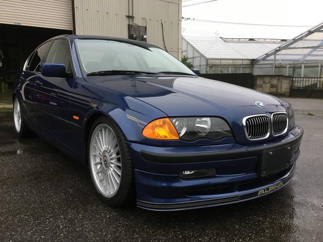 BMWアルピナ 3.3リムジン スイッチトロニック ガラスコーティング施工済