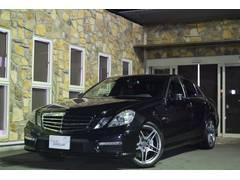 M・ベンツE63AMG D車 キーレスゴー 黒革 ナビTV 1年保証付
