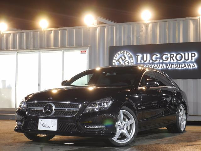 CLS550BE AMG−P Pスタ 黒革 SR 2年保証付
