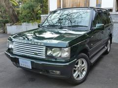 レンジローバーヴォーグ 4WD エアサス交換済 黒革シート ETC 記録簿