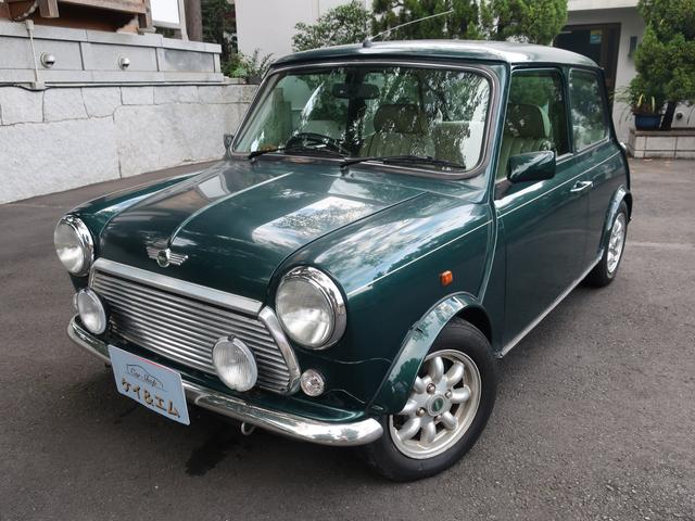 Rover Mini Kensington 1997 Green 25000 Km Details