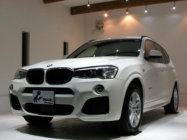 BMW xDrive20dMスポーツ茶革ACC禁煙1オナ車ドラレコ付