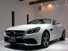 M・ベンツSLC180 スポーツ 黒革 禁煙1オーナー 新車保証継承