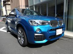 BMW X4M40i 1オーナー サンルーフ ホワイトレザー