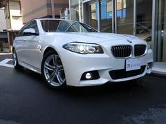 BMW523dツーリング Mスポーツ 黒革 1オーナー弊社下取り