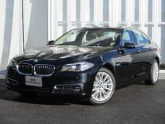 BMW523iラグジュアリー新車保証付 ベージュレザー ACC