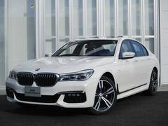 BMW740iMスポーツ 20インチアルミ サンルーフ 黒レザー
