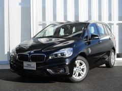 BMW218dグランツアラー新車保証付 プラスP ナビ ETC