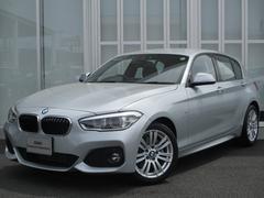 BMW118dMスポーツ パーキングサポートP 新車保証付