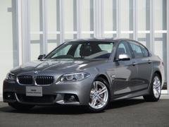 BMW523iMスポーツハイラインP ブラウン革 LEDライト