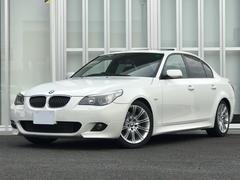 BMW525i Mスポーツ 黒レザー サンルーフ ウッドパネル