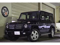 M・ベンツG550L クロームP 1オナ 革 SR ナビTV 1年保証