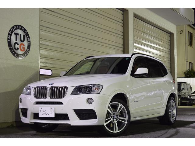 BMW X3 xDrive 35i Mスポ 1オナ 赤革 ナビ 1...