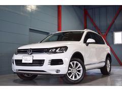 VW トゥアレグV6 BMT UPグレ 1オナ Pスタ iスト 革 2年保証