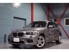 BMW X1sDrive18i Mスポーツ 黒革 HDDナビ 2年保証付