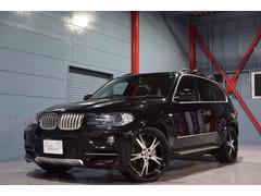 BMW X54.8i エアロダイナミックP 黒革 SR 純ナビ 2年保証