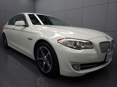 BMWアクティブハイブリッド5 ブラックレザーシート