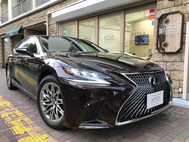 Lexus Ls Ls500h Executive 2018 Wine M 4 000 Km Details