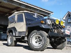 ジープキャンバストップ 4WD トレーラー付き 機械式ウィンチ