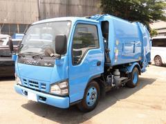 エルフトラック2t積 極東製プレスパッカー4.2立米 4.8D 型式PB